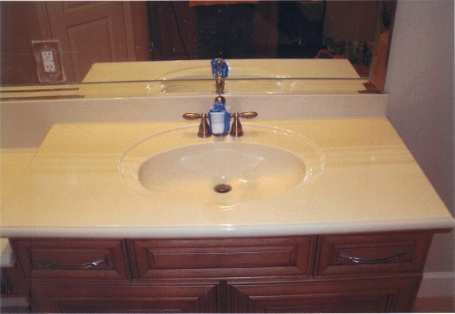 Vanity Countertop Refinishing Services St Louis, Vanity Resurfacing Services