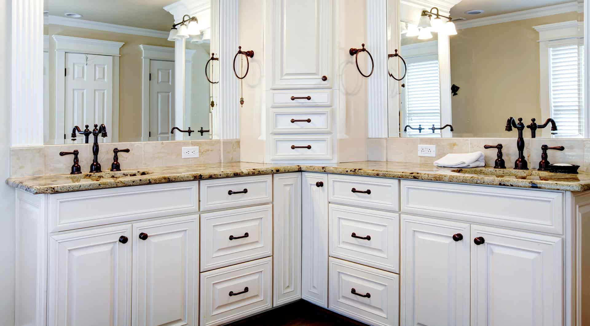 Cabinet Refinishing Services, Vanity Resurfacing Services